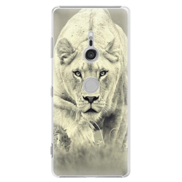 Plastové puzdro iSaprio - Lioness 01 - Sony Xperia XZ3