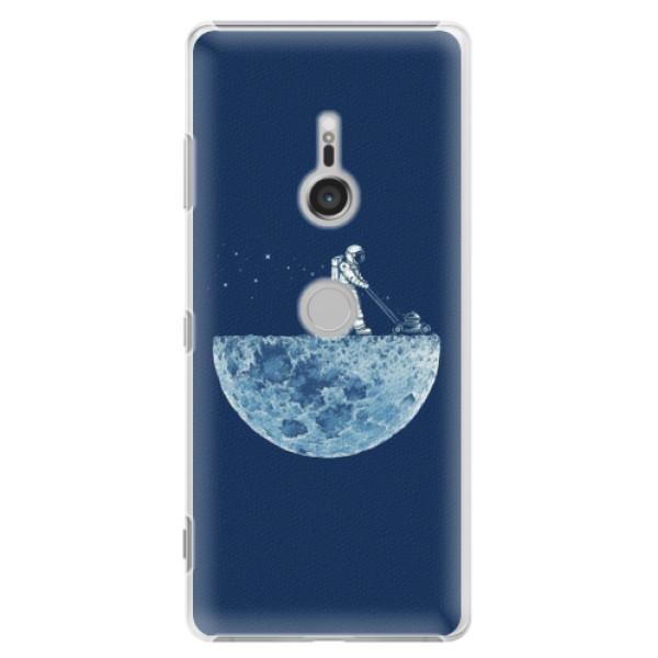 Plastové puzdro iSaprio - Moon 01 - Sony Xperia XZ3
