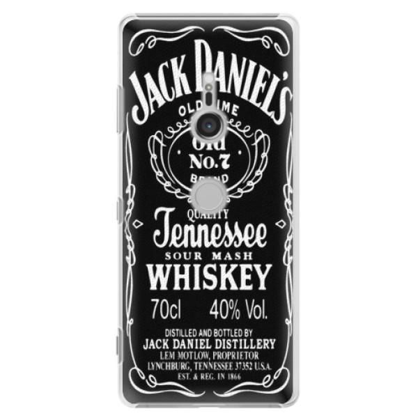 Plastové puzdro iSaprio - Jack Daniels - Sony Xperia XZ3