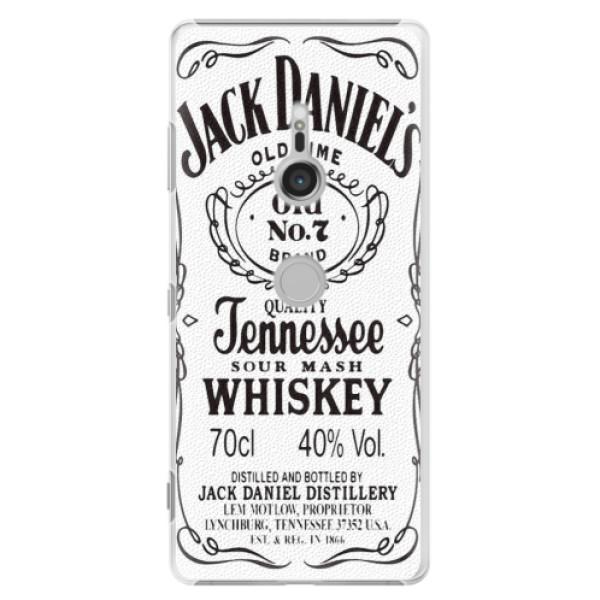 Plastové puzdro iSaprio - Jack White - Sony Xperia XZ3