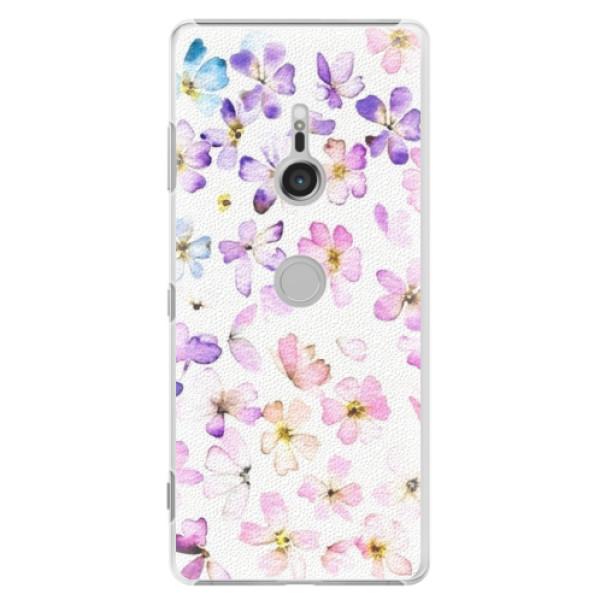 Plastové puzdro iSaprio - Wildflowers - Sony Xperia XZ3