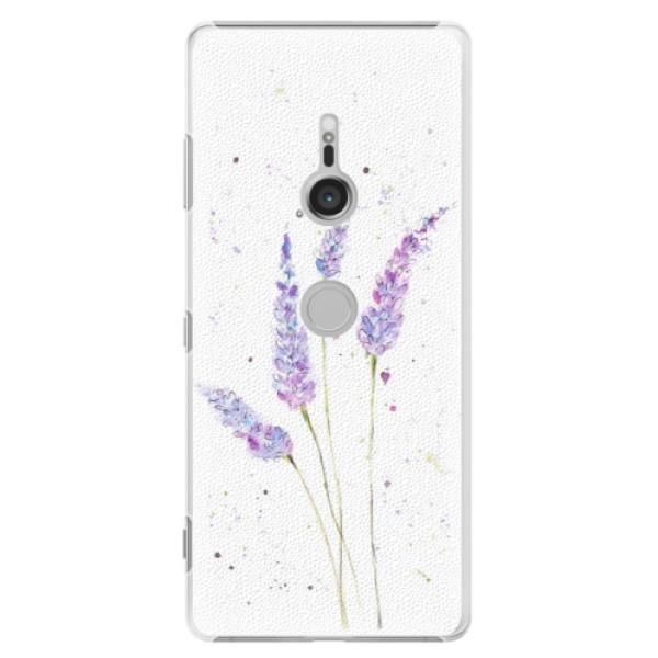 Plastové puzdro iSaprio - Lavender - Sony Xperia XZ3