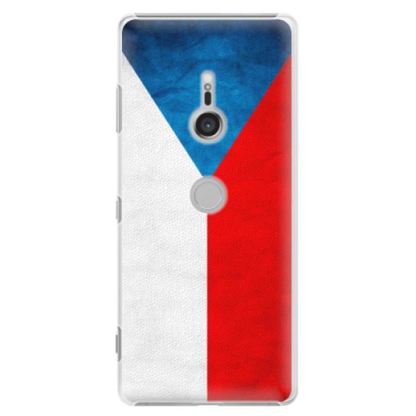 Plastové puzdro iSaprio - Czech Flag - Sony Xperia XZ3