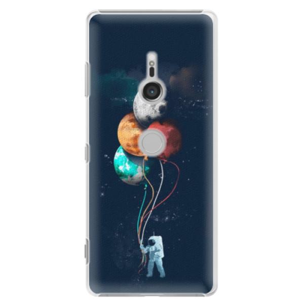 Plastové puzdro iSaprio - Balloons 02 - Sony Xperia XZ3