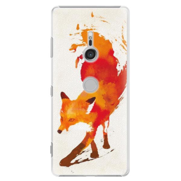 Plastové puzdro iSaprio - Fast Fox - Sony Xperia XZ3