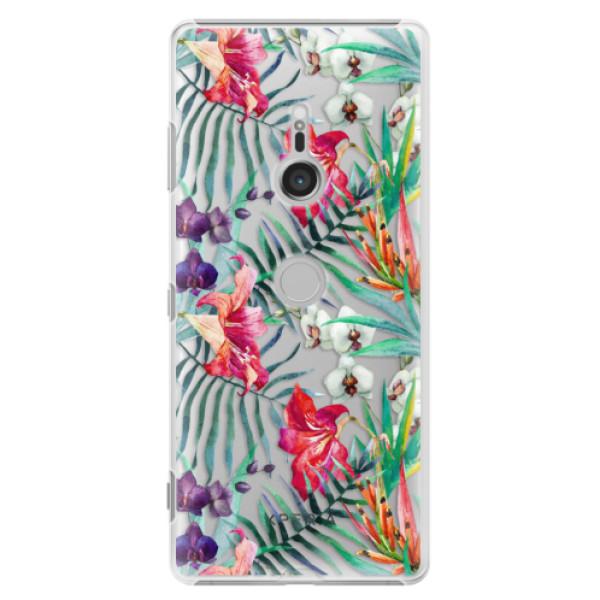 Plastové puzdro iSaprio - Flower Pattern 03 - Sony Xperia XZ3