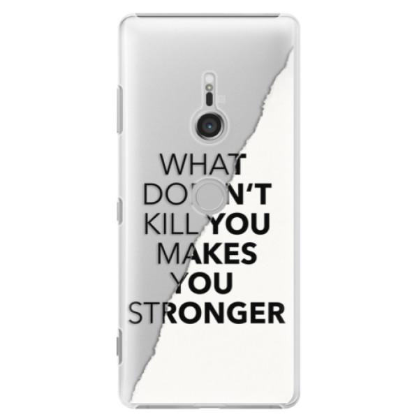 Plastové puzdro iSaprio - Makes You Stronger - Sony Xperia XZ3