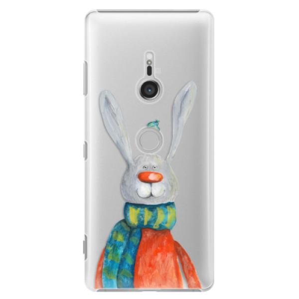 Plastové puzdro iSaprio - Rabbit And Bird - Sony Xperia XZ3