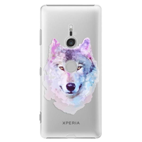 Plastové puzdro iSaprio - Wolf 01 - Sony Xperia XZ3
