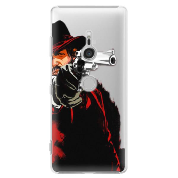Plastové puzdro iSaprio - Red Sheriff - Sony Xperia XZ3