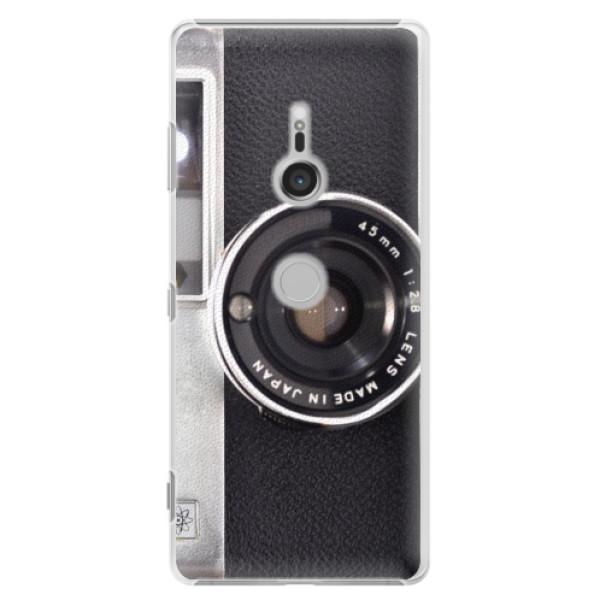 Plastové puzdro iSaprio - Vintage Camera 01 - Sony Xperia XZ3