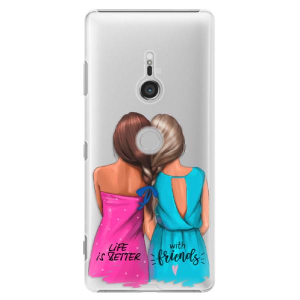 Plastové puzdro iSaprio - Best Friends - Sony Xperia XZ3