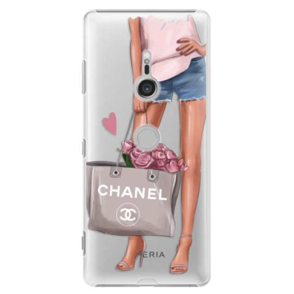 Plastové puzdro iSaprio - Fashion Bag - Sony Xperia XZ3