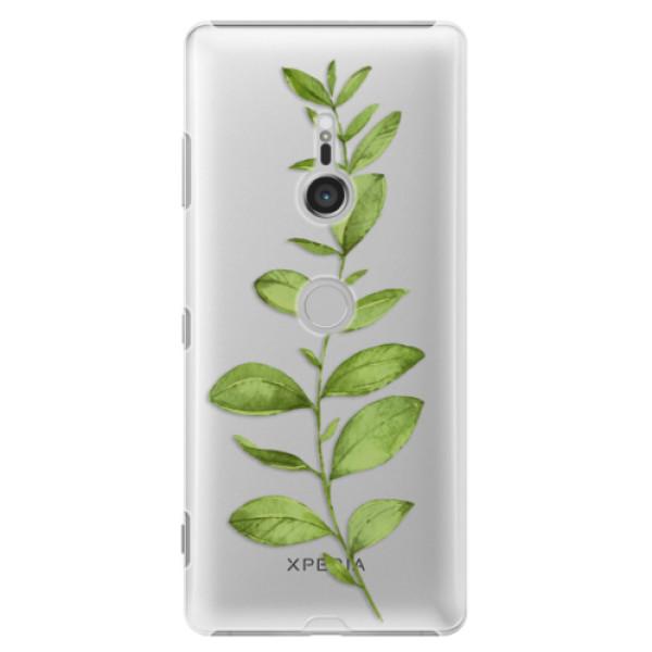 Plastové puzdro iSaprio - Green Plant 01 - Sony Xperia XZ3