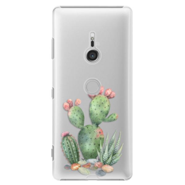 Plastové puzdro iSaprio - Cacti 01 - Sony Xperia XZ3