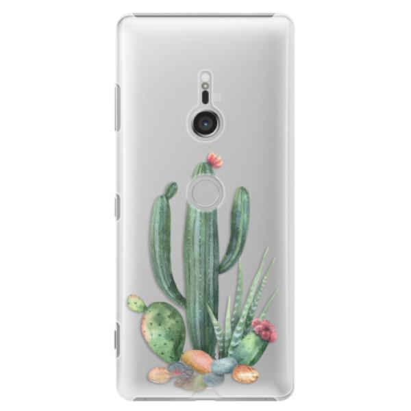 Plastové puzdro iSaprio - Cacti 02 - Sony Xperia XZ3