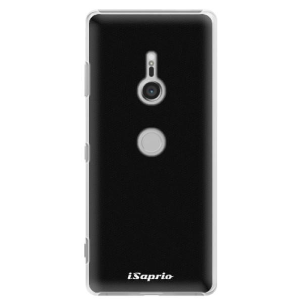 Plastové puzdro iSaprio - 4Pure - černý - Sony Xperia XZ3