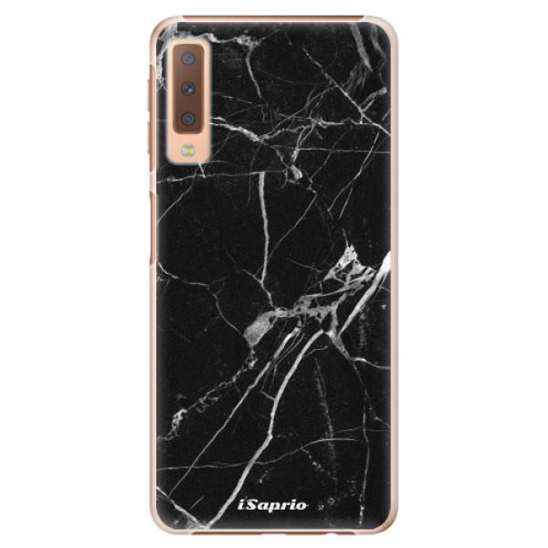 Plastové puzdro iSaprio - Black Marble 18 - Samsung Galaxy A7 (2018)