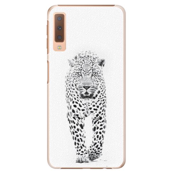 Plastové puzdro iSaprio - White Jaguar - Samsung Galaxy A7 (2018)