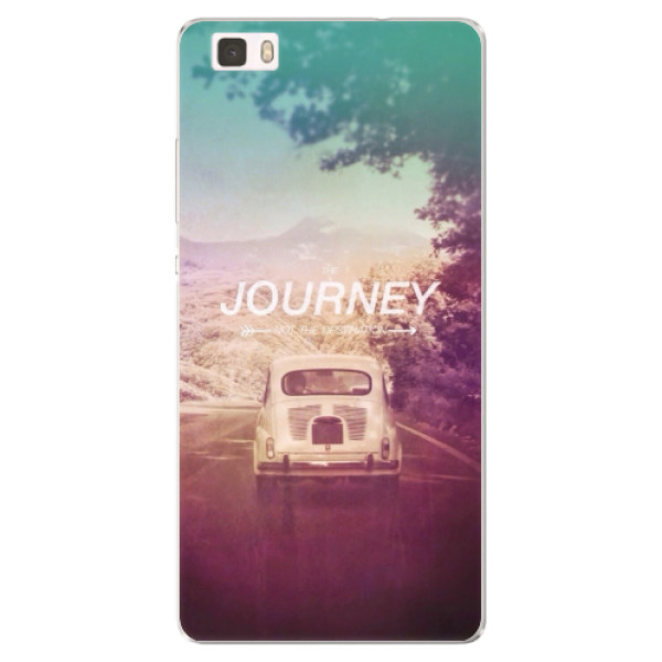 Silikónové puzdro iSaprio - Journey - Huawei Ascend P8 Lite