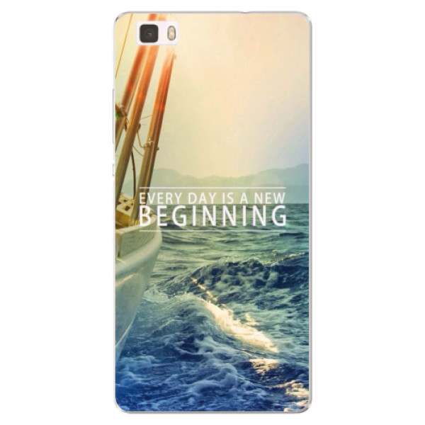 Silikónové puzdro iSaprio - Beginning - Huawei Ascend P8 Lite