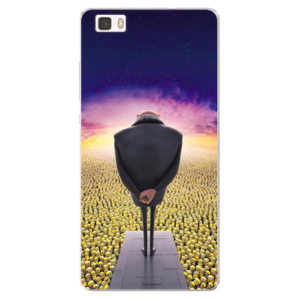 Silikónové puzdro iSaprio - Gru - Huawei Ascend P8 Lite