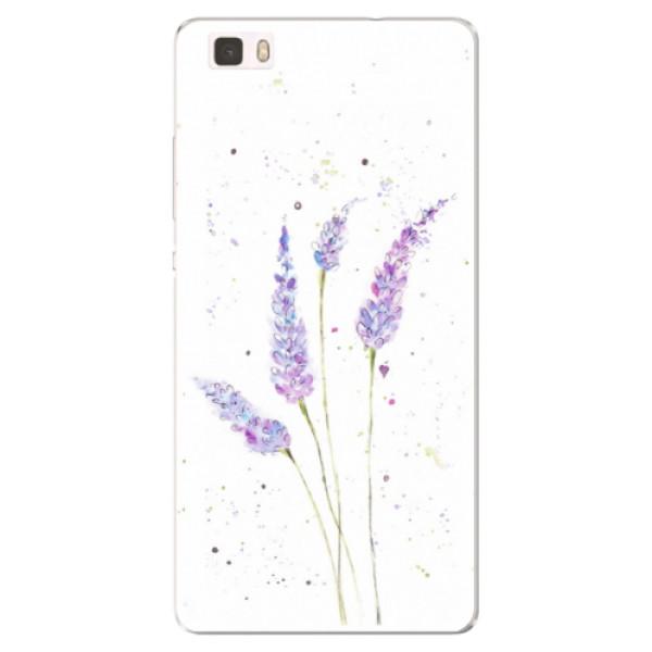Silikónové puzdro iSaprio - Lavender - Huawei Ascend P8 Lite