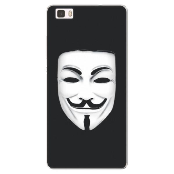 Silikónové puzdro iSaprio - Vendeta - Huawei Ascend P8 Lite