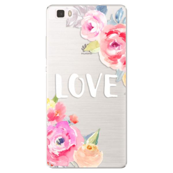 Silikónové puzdro iSaprio - Love - Huawei Ascend P8 Lite