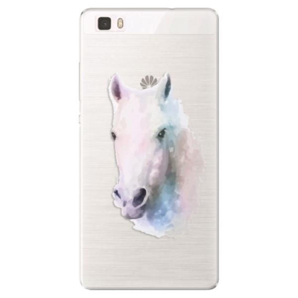 Silikónové puzdro iSaprio - Horse 01 - Huawei Ascend P8 Lite