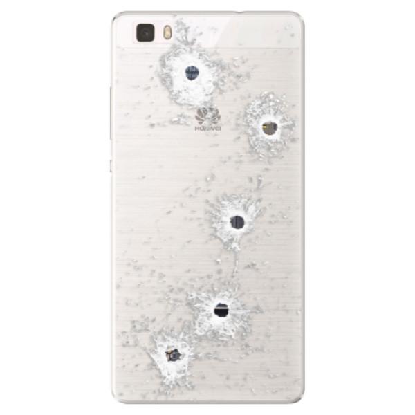 Silikónové puzdro iSaprio - Gunshots - Huawei Ascend P8 Lite