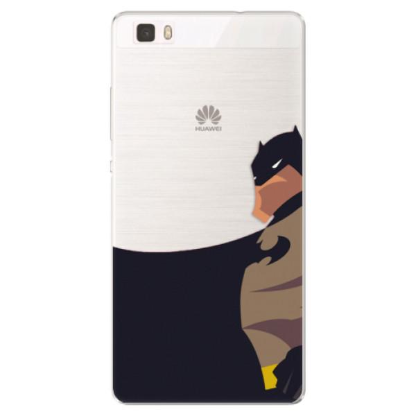Silikónové puzdro iSaprio - BaT Comics - Huawei Ascend P8 Lite