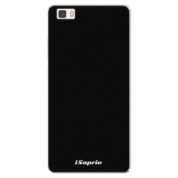 Silikónové puzdro iSaprio - 4Pure - černý - Huawei Ascend P8 Lite