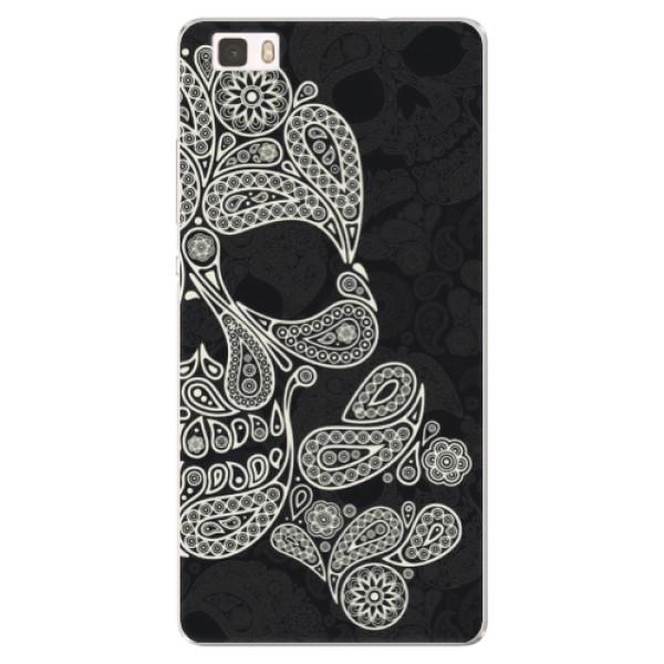 Silikónové puzdro iSaprio - Mayan Skull - Huawei Ascend P8 Lite