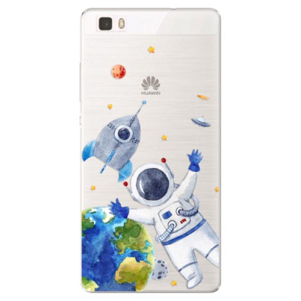 Silikónové puzdro iSaprio - Space 05 - Huawei Ascend P8 Lite