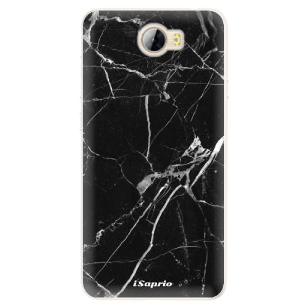 Silikónové puzdro iSaprio - Black Marble 18 - Huawei Y5 II / Y6 II Compact