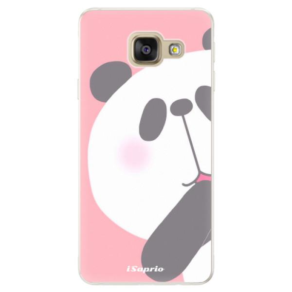 Silikónové puzdro iSaprio - Panda 01 - Samsung Galaxy A5 2016
