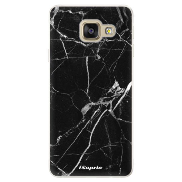 Silikónové puzdro iSaprio - Black Marble 18 - Samsung Galaxy A5 2016