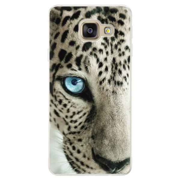 Silikónové puzdro iSaprio - White Panther - Samsung Galaxy A5 2016