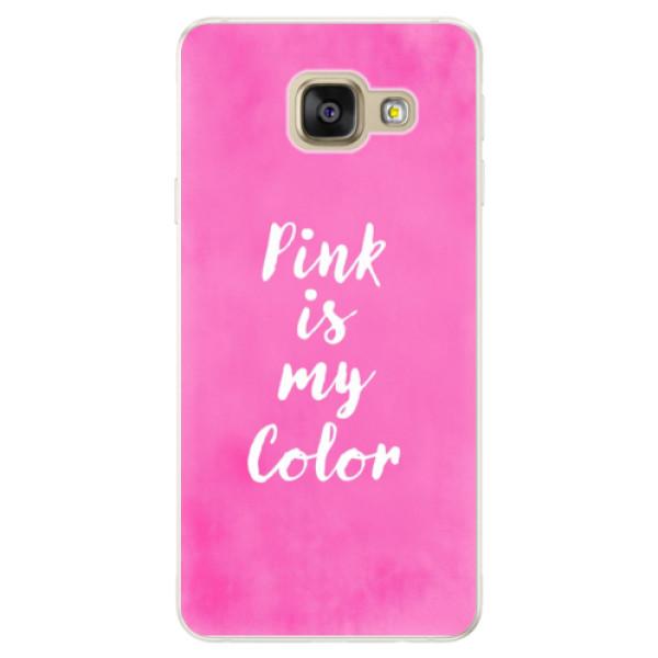 Silikónové puzdro iSaprio - Pink is my color - Samsung Galaxy A5 2016