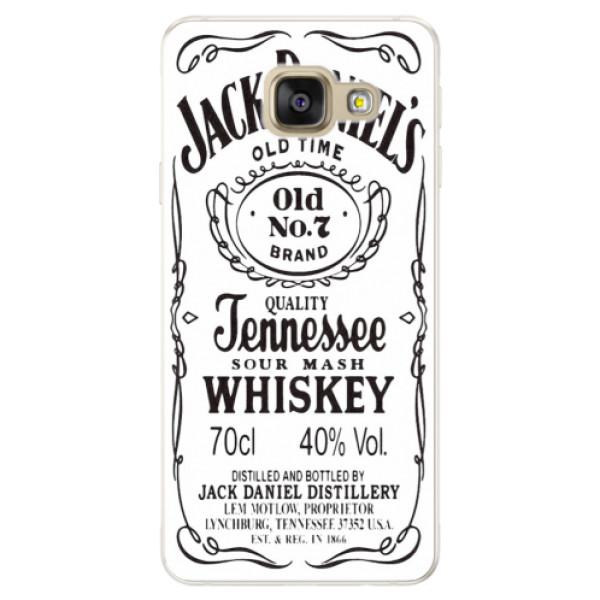 Silikónové puzdro iSaprio - Jack White - Samsung Galaxy A5 2016