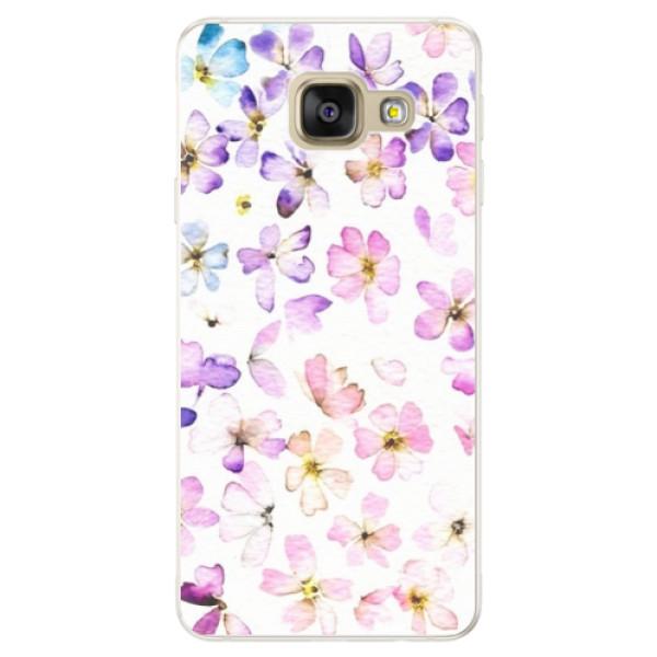 Silikónové puzdro iSaprio - Wildflowers - Samsung Galaxy A5 2016