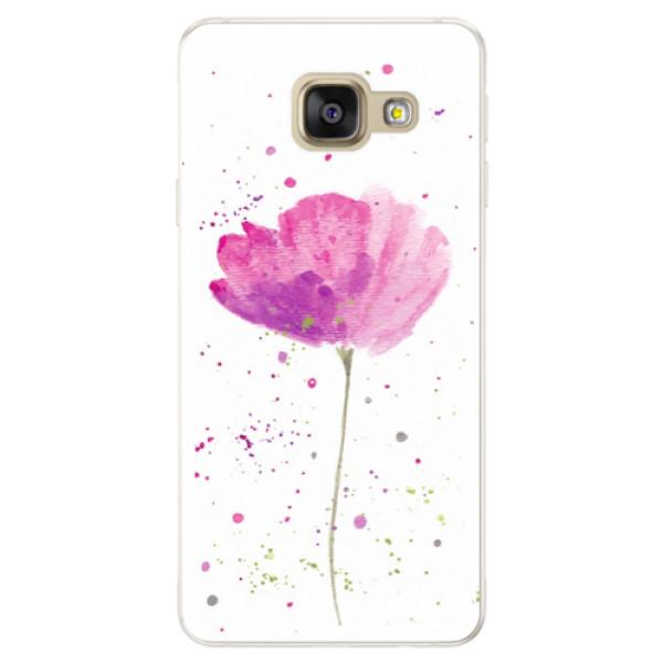 Silikónové puzdro iSaprio - Poppies - Samsung Galaxy A5 2016