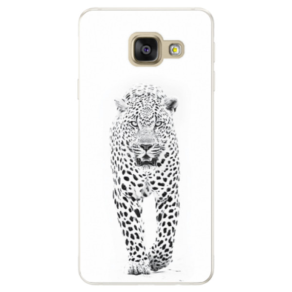 Silikónové puzdro iSaprio - White Jaguar - Samsung Galaxy A5 2016