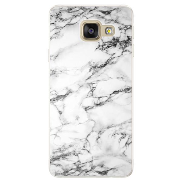 Silikónové puzdro iSaprio - White Marble 01 - Samsung Galaxy A5 2016