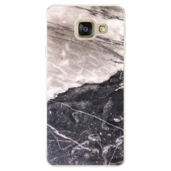 Silikónové puzdro iSaprio - BW Marble - Samsung Galaxy A5 2016