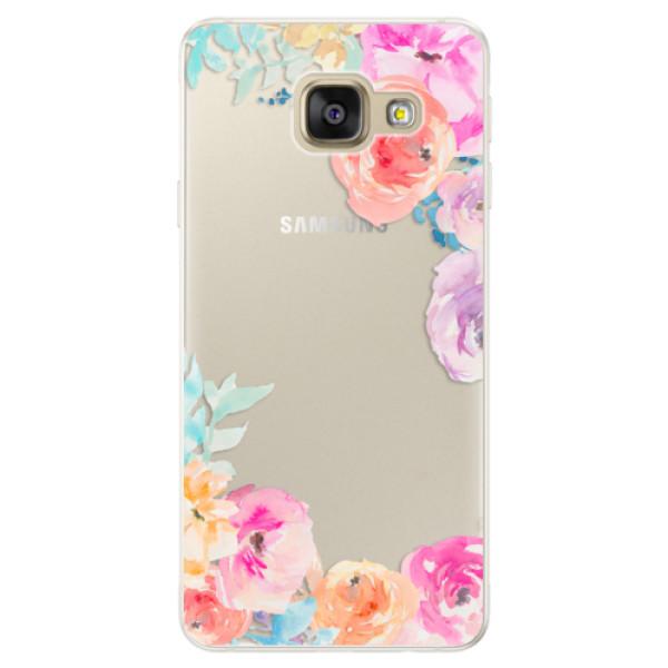 Silikónové puzdro iSaprio - Flower Brush - Samsung Galaxy A5 2016
