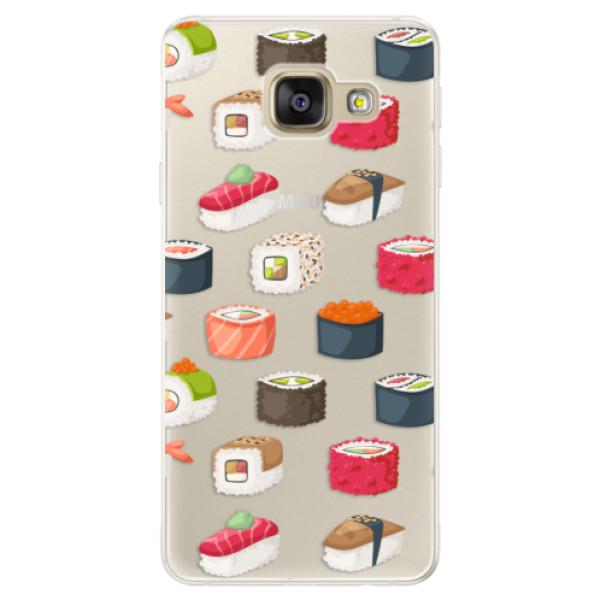 Silikónové puzdro iSaprio - Sushi Pattern - Samsung Galaxy A5 2016