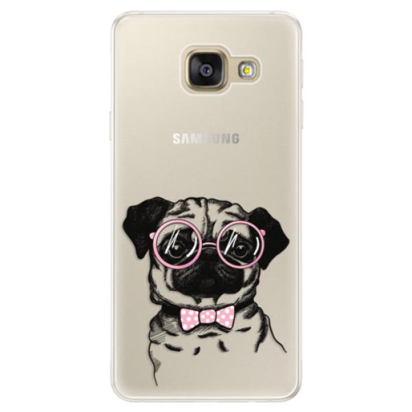 Silikónové puzdro iSaprio - The Pug - Samsung Galaxy A5 2016
