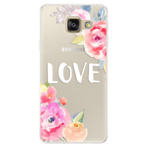 Silikónové puzdro iSaprio - Love - Samsung Galaxy A5 2016